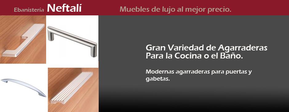 Ebanisteria neftali fregaderos para tus gabinetes for Agarraderas de bano